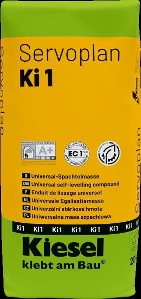 Universal Spachtelmasse selbstnivellierend Von Kiesel Servoplan Ki 1Servoplan Ki 1