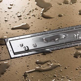 Duschrinnen Abdeckung Duschablauf Duschrinnensystem LINE-A mit 19mm Rahmen
