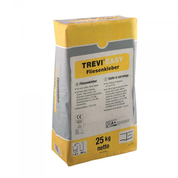 Fliesenkleber für Innenbereich und Außenbereich, an Wand und Boden Trevi TREVI EASY 25Kg