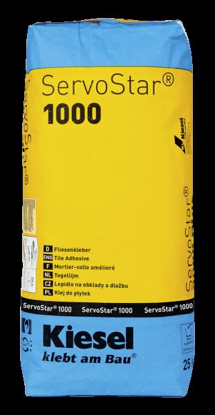 Fliesenkleber für Wandfliesen und Bodenfliesen von Kiesel Servostar 1000