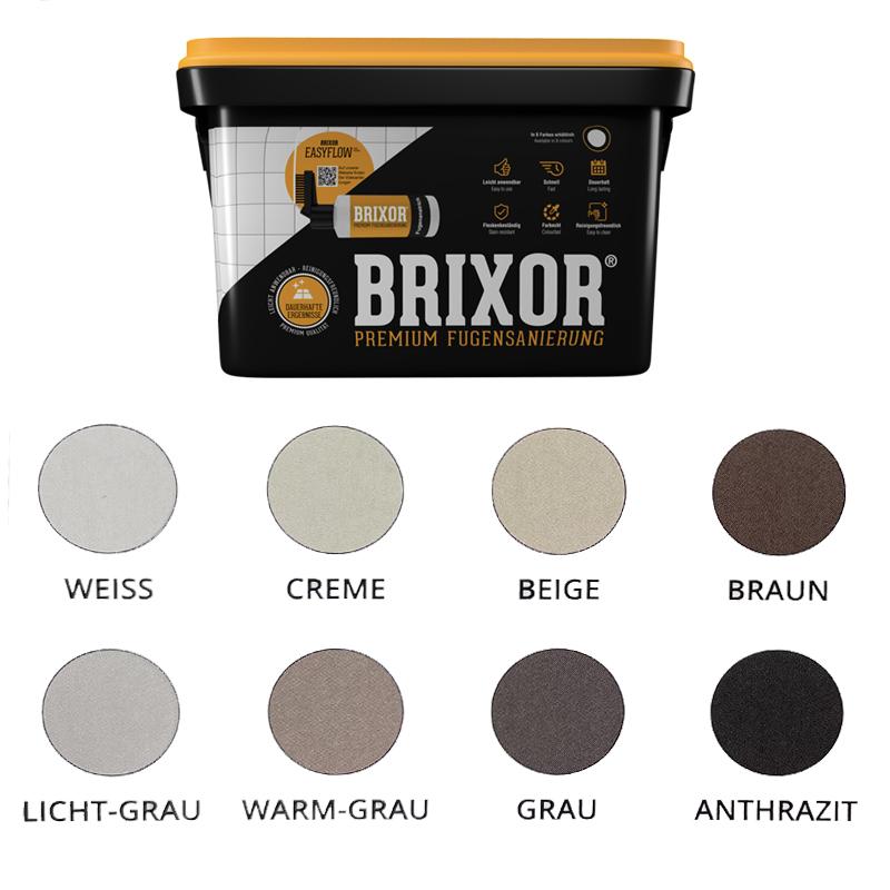 Brixor-farben