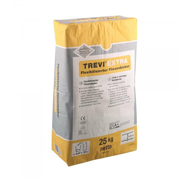 Fliesenkleber für Innenbereich und Außenbereich, an Wand und Boden TREVI EXTRA 25Kg